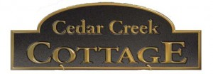 Cedar Creek Cottage